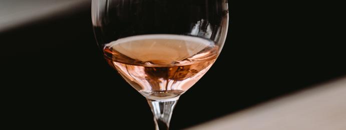 Wino różowe