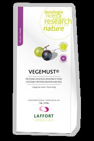 Formuła oparta w 100% na białkach roślinnych, antyalergiczna i odpowiednia do ekologicznej produkcji wina.