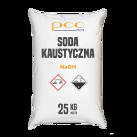 Soda kaustyczna 25kg płatki